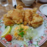 餃子の王将 - 鶏の唐揚 540円