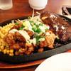 ステーキのくいしんぼ - 料理写真:チキン南蛮&ハンバーグ@Dランチ