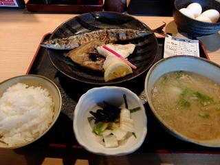 磯一 新大阪店 - 焼魚定食 850円(消費税8%時)
