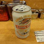 博多風龍 - 缶ビール:350円