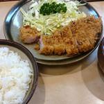 鈴文 - ランチとんかつ定食