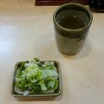 鈴文 - 漬物とお茶
