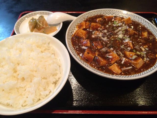 蘭蘭 本店 - 麻婆豆腐定食