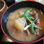四季美谷温泉  - 鹿肉のまたぎ汁