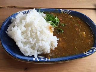 手打ちうどん ぶれーど・う - ミニカレー  350円