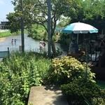 菊水苑 - 子どもの水遊びには最適そうです