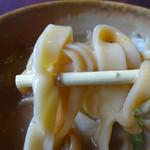 民芸茶屋 清水 - 麺はモチモチ