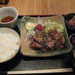 軍鶏一 - 味噌焼定食 \780