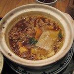 軍鶏一 - カレースープ鍋定食 \750