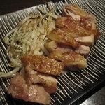 鉄板Diner JAKEN - 阿波尾鶏のもも塩焼き