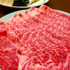 平八 - 料理写真:ポン酢しゃぶしゃぶ牛(pq*´꒳`*)♥︎♥︎*。