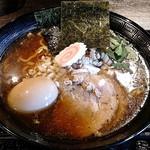 麺屋 きら - 麺屋 きら @中葛西 特製正油らーめん 太麺  『漆』 980円(税込)