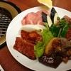 明洞 - 料理写真:肉盛の図