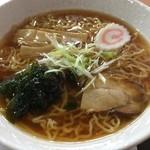 海清庵 - 料理写真:醤油ラーメン 550円