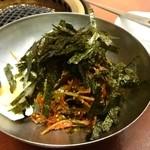 明洞 - びびん麺の図