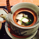 日本料理 嵯峨野 - 土瓶蒸し