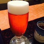 日本料理 嵯峨野 - ビール