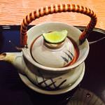 日本料理 嵯峨野 - 土瓶蒸し オープン前