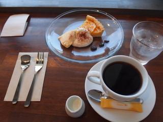 トム アンド ワイズ コーヒー - コーヒーと、この日のSweets『オレンジタルト』☆