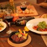 古民家カフェ&バル saburo36 - お料理はコースでもご用意できます。(要予約)