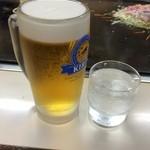 お好み焼き てっちゃん - 生ビール500円