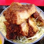玉龍飯店 - ソースかつ丼1000円