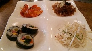 韓国家庭料理・焼肉 ヘラン - ランチサムギョプサルに付いてくるもの