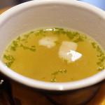 シュヴァルツヴァルトカフェ - スープ