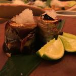 情熱食彩 京色 - 秋刀魚の肝あわせ焼き