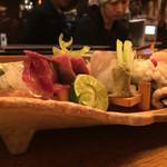 情熱食彩 京色 - お造り盛り合わせ