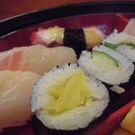 すし広 - 蛸、鯛、貝柱のにぎり&細巻き 2015.09.21
