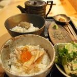 日本酒庵 吟の杜 - カニ鯛膳
