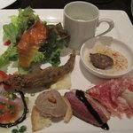 ラ バルカ - 料理写真:前菜盛り合わせ