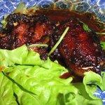 馬来風光美食 - 豚ロースの腐乳煮