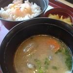 ジョイフル - 豚汁朝食(≧∇≦)