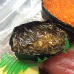 シゲちゃんすし - がごめ昆布は美味しくもちょっとしょっぱい