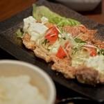 中屋 - 日向鶏のチキン南蛮定食 2