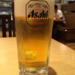 丸源ラーメン - 生ビール〜(*^◯^*)