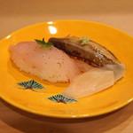 42135389 - お凌ぎ (グジと穴子のお寿司) (2015/09)