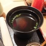 鎌倉かつ亭 あら珠 - しじみの赤出汁、とても美味かった
