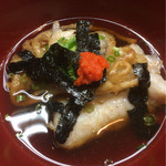 42138901 - 魚の揚げ出しは麺が巻かれて新鮮な味(^^)