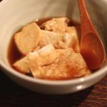眠庵 - 煮豆腐