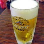 蔓山 - ビールなしには食べられません