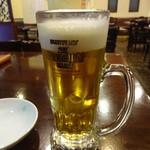 李さんのおいしい中華屋 - 生ビール:280円
