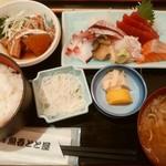 海鮮料理魚春とと屋 - お刺身定食