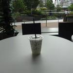カフェタイム - 氷カフェ キャラメルマキアート:350円