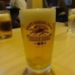 咲の家 - 生ビール:600円