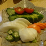 咲の家 - ママのおいしいきゅうりの糠漬け:500円