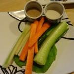 咲の家 - 生野菜スティック:500円