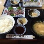 みよし寿司 - 料理写真:さんまの刺身定食